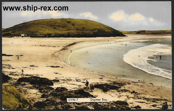 Daymer Bay - Frith postcard